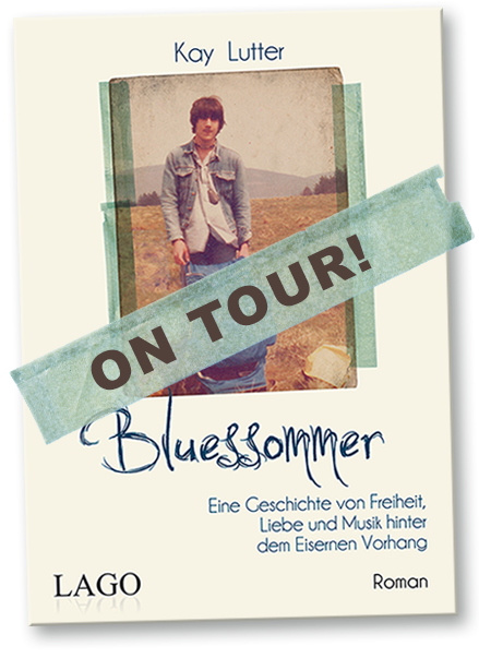 Kay Lutter Buch Bluesommer - Termine / On Tour