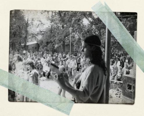 Gerry im Bluessommer 1985