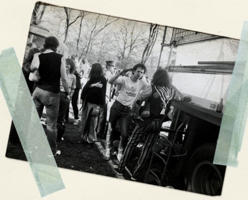 Bluessommer 1986: Open Air im Eliaspark Cottbus