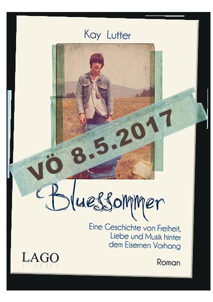 Kay Lutter-Buch Bluesommer Veröffentlichung am 8.5.2017.