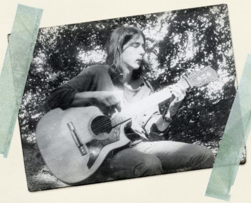 Neil Young himself auf dem Zeltplatz Bansin/Usedom