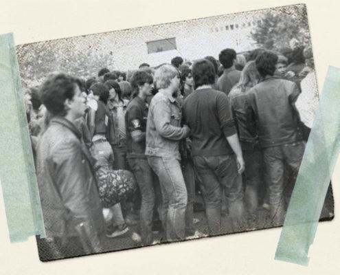 Iron Maiden in Budapest, Sommer 1984
