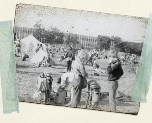 Budapest, Bluessommer 1984: Ein Zeltplatz nur für Ostler!
