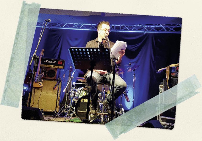 Bluessommer-Konzert in Jena - Location Paradiescafe - Bild 1