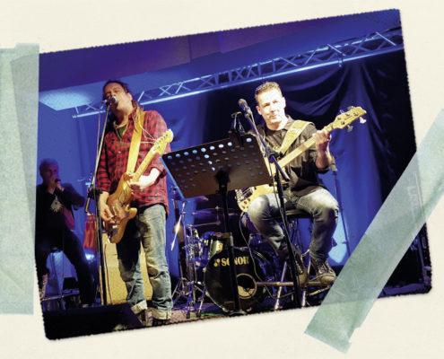 Bluessommer-Konzert in Jena - Location Paradiescafe - Bild 2