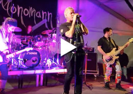 """Beitragsbild Video - Kay Lutter & Monomann - Bluessommer-Konzert in Hohen Neuendorf-Titel """"Die Bürokratie"""""""